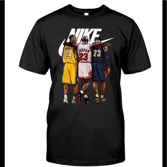 online retailer 67c6a cd133 Nike Jordan Kobe Lebron tee. M 5aad94792ab8c556627c954b